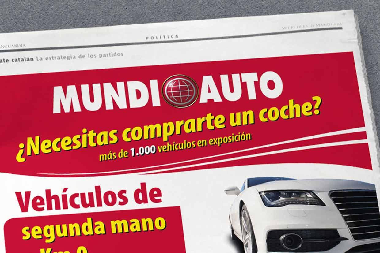 diseño de anuncios para periódicos en Barcelona