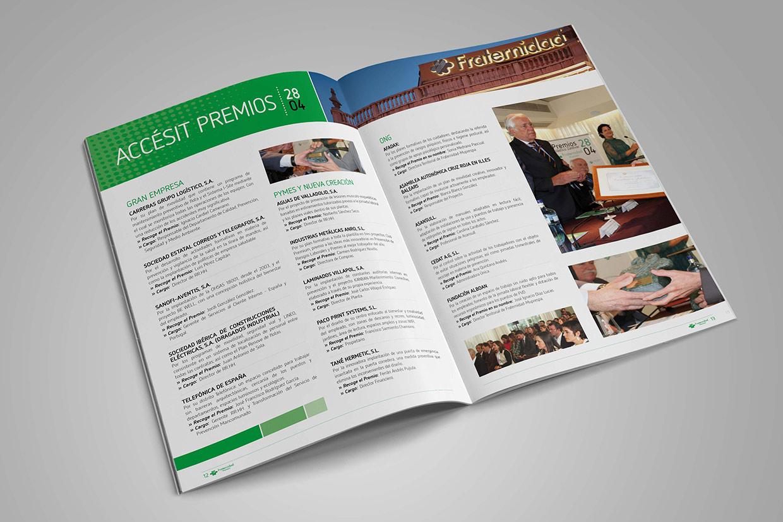 diseño de revistas para empresas en Barcelona